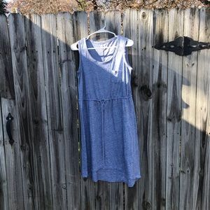 Large strapless high low dress by Sonoma